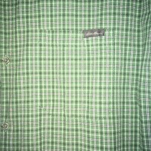 Eddie Bauer Shirts - Eddie Bauer Plaid Button Down s/s
